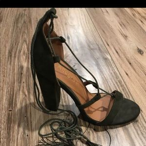 Allegra lace up sandals size 9